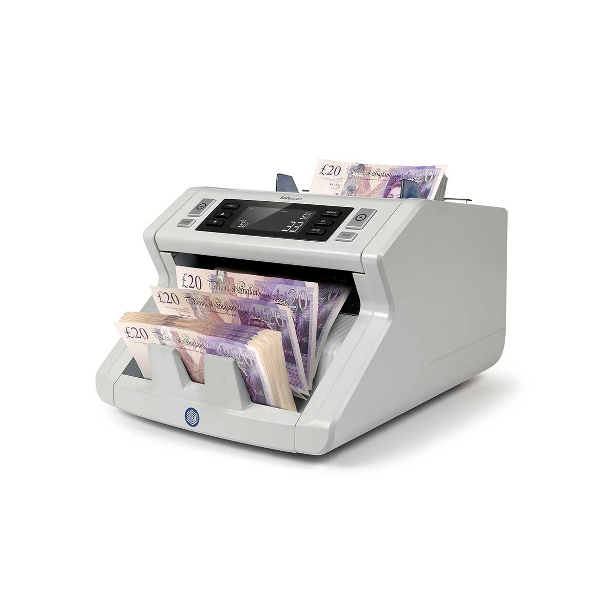 Safescan 2210 Automatic Bank Note Counter with UV Detection