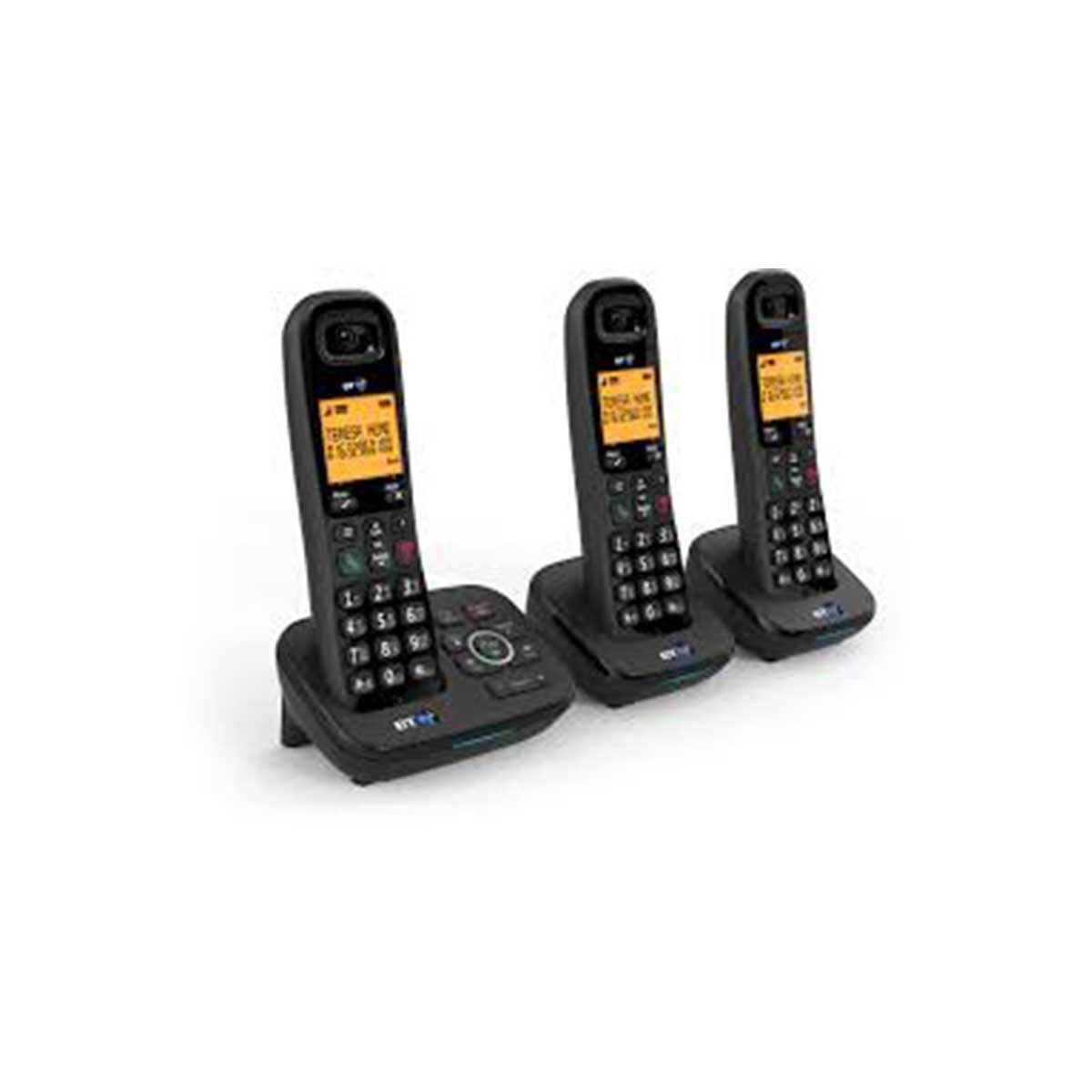 BT BT1700 Trio Dect Telephone with Nuisance Call blocking and Answer Machine