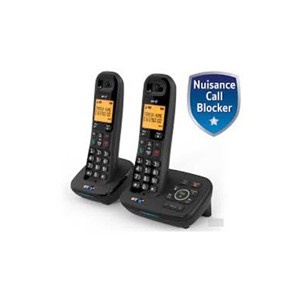 BT BT1700 Twin Dect Telephone with Nuisance Call blocking and Answer Machine