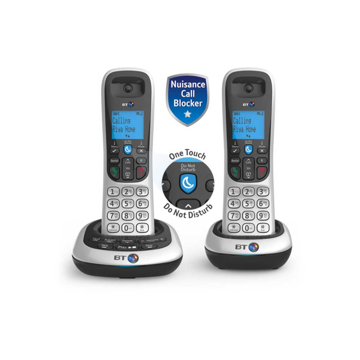 BT BT2700 Twin Dect Telephone with Nuisance Call Blocker and Answer Machine