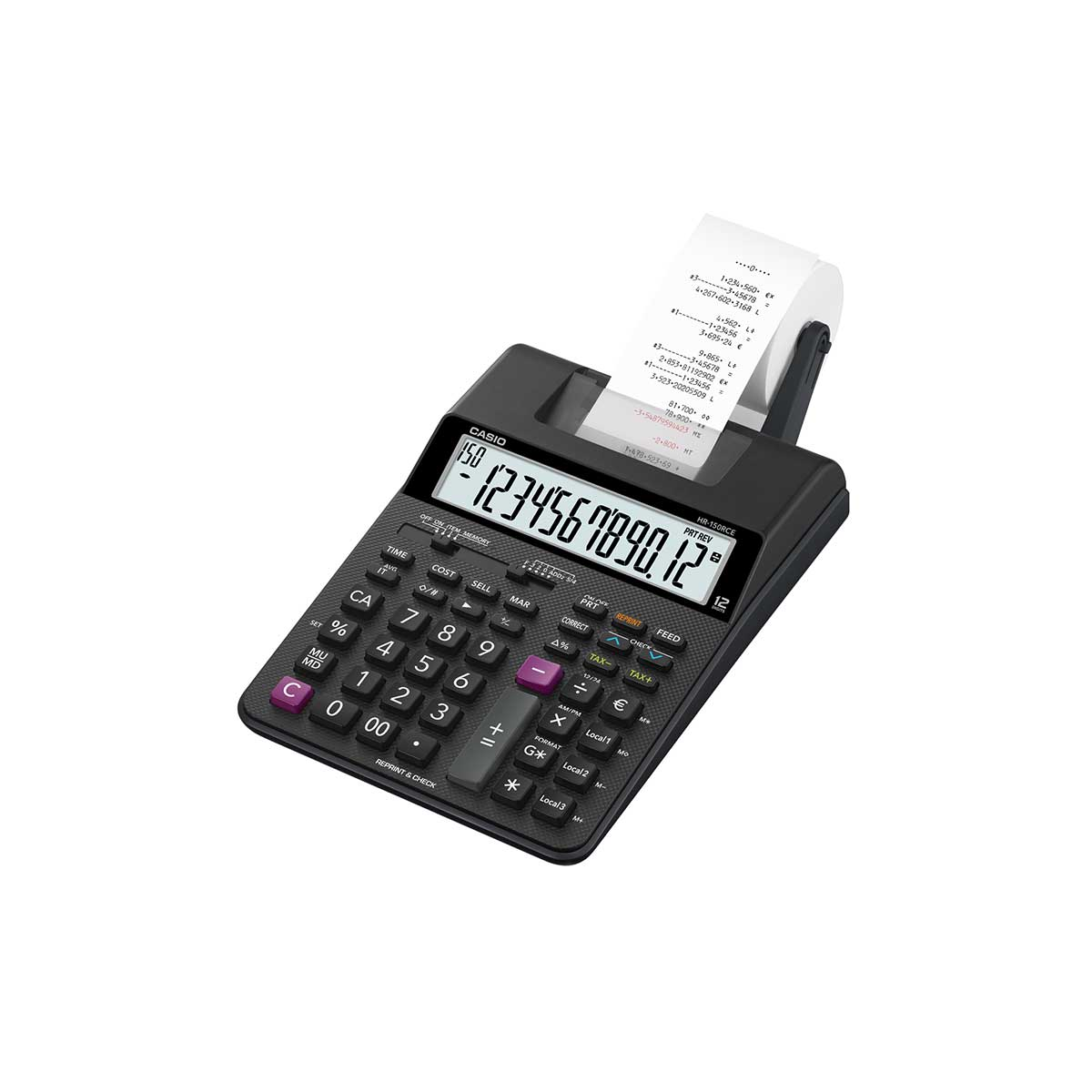 Casio HR-150RCE 2 Colour Print Calculator