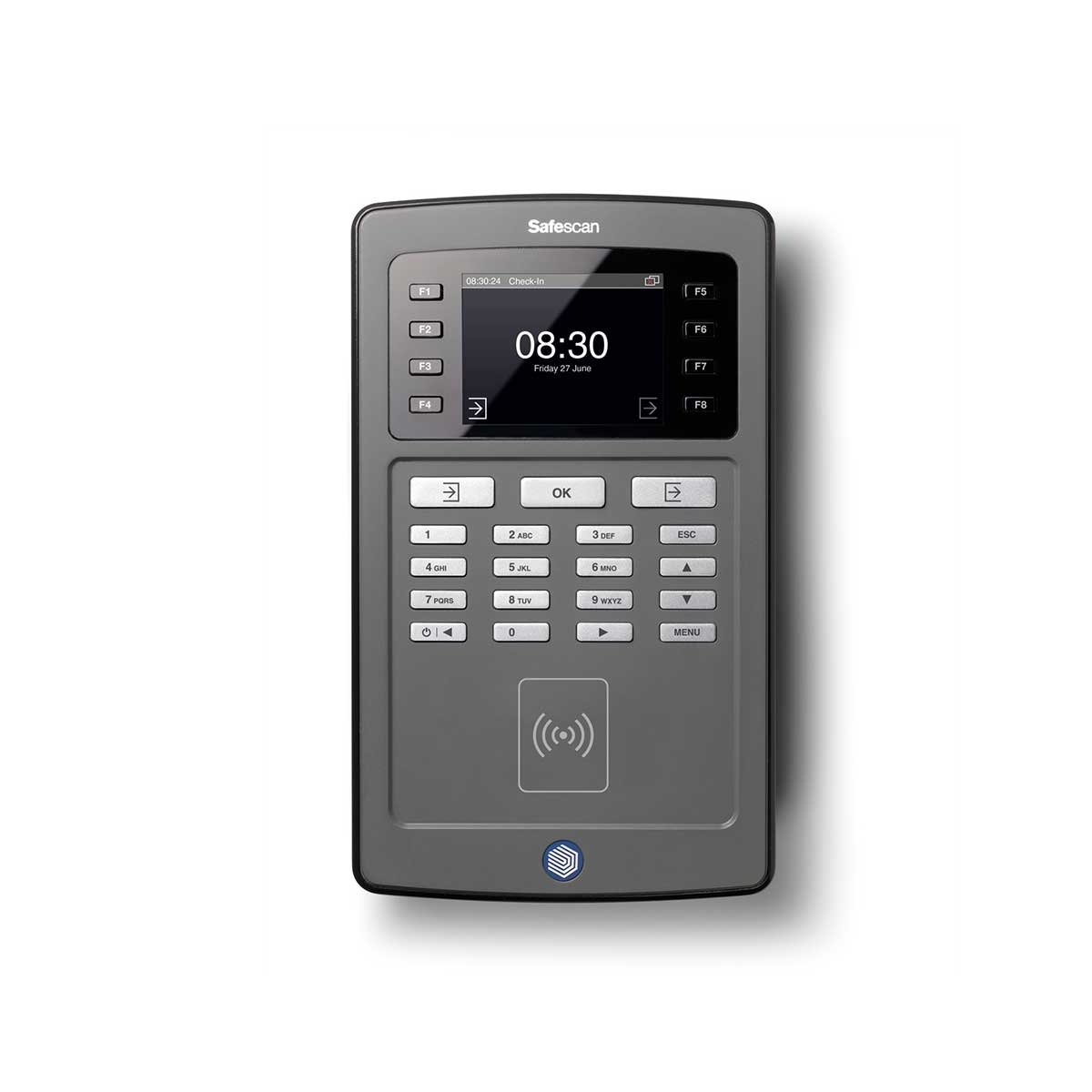 Safescan TA-8010 Time Attendance System with RFID Reader and TA Software