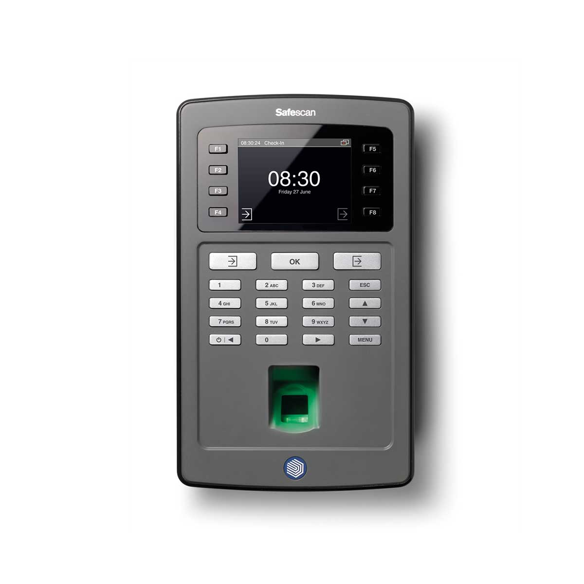 Safescan TA-8030 Time Attendance System with RFID and Fingerprint Reader