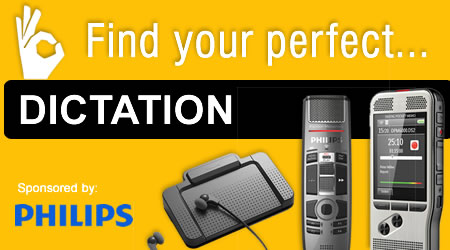 Find dictation by application Banner Image