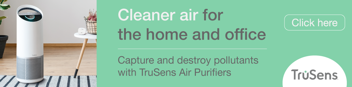 Cleaner air with Trusens Banner Image