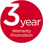 3 Year Warranty with Canon Icon