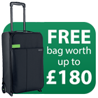 Free Leitz Travel Bag worth up to £180 with IQ shredders Icon