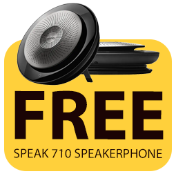 Free Jabra speakerphone worth over £200 Icon