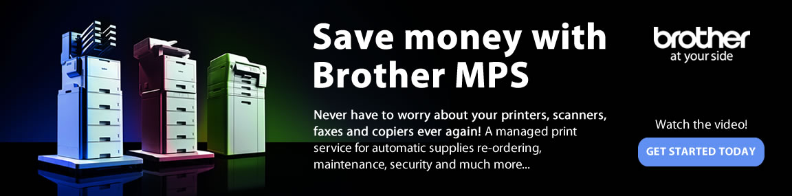 Brother Managed Print Services Banner Image