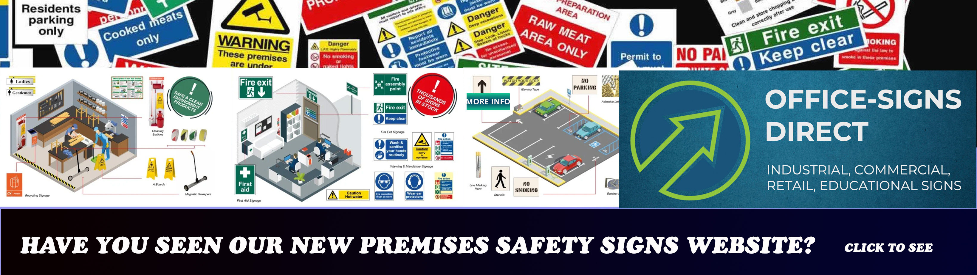 Safety Premises Signs Banner Image