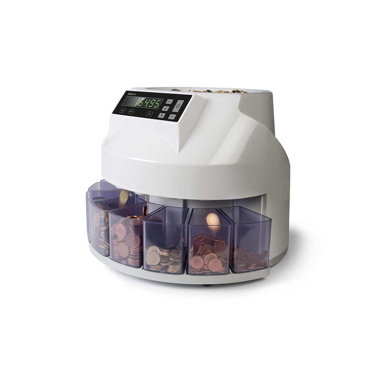 Safescan 1250 Euro Automatic Coin Counter and Sorter