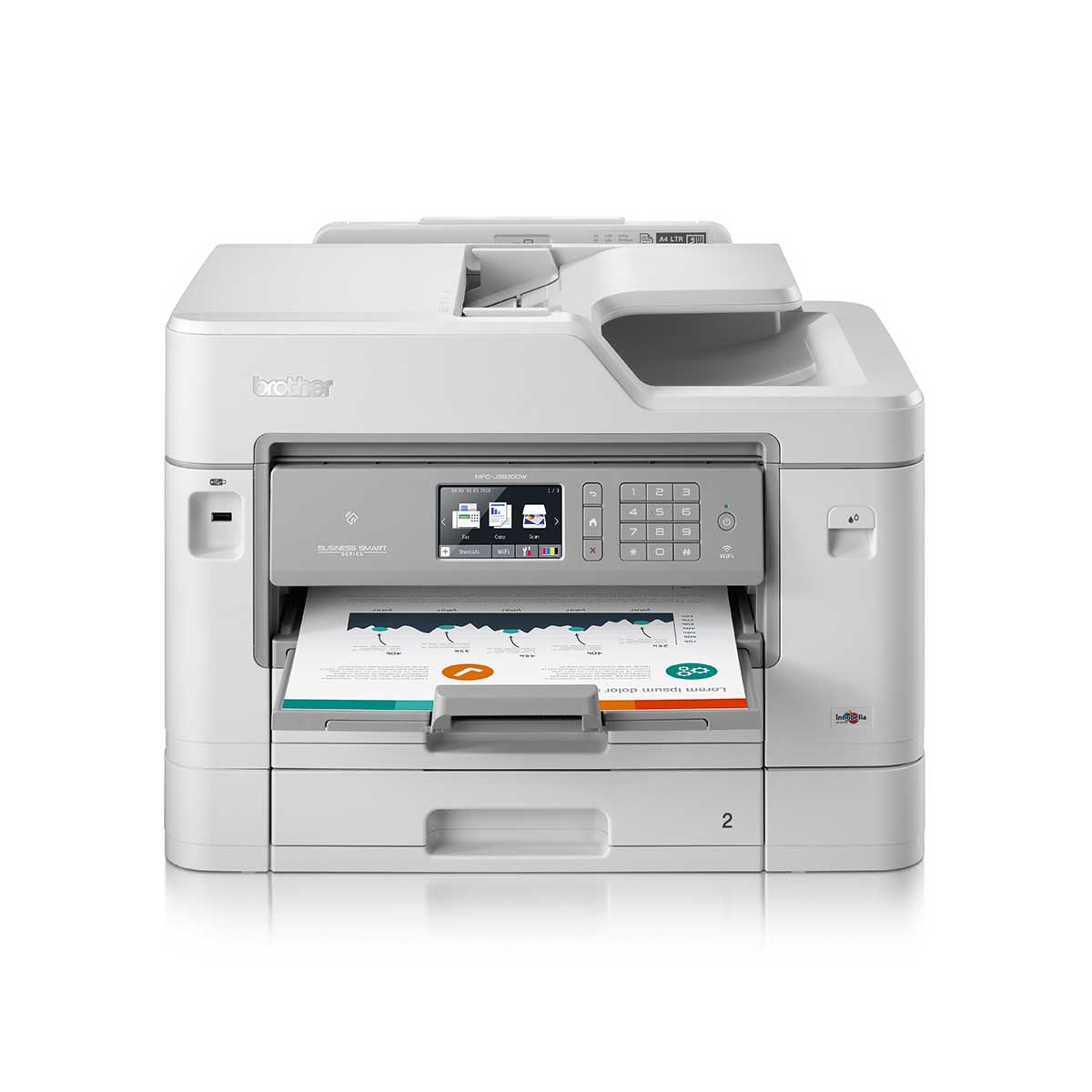 Brother MFC-J5930DW All In One A4 with A3 capability Inkjet Multifunction